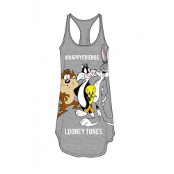 Dámská noční košile Looney Tunes - šedá