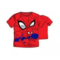 Triko s kr. rukávem Spider-man - červené