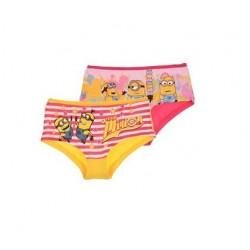 Kalhotky Mimoni (2pack) - žlutý pruh + růžová zmrzlina