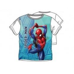 Triko s kr. rukávem Spider-man - bílé