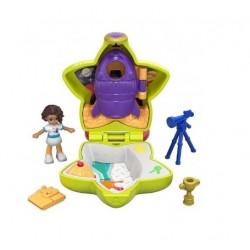 Kapesní domeček s panenkou Polly a doplňky - astronautka