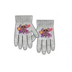 Prstové rukavice L.O.L. - šedé