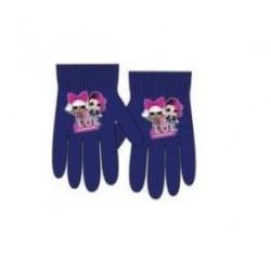 Prstové rukavice L.O.L. - tmavě modré