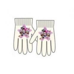 Prstové rukavice L.O.L. - bílé