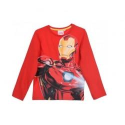 Triko s dl. rukávem Avengers (Iron-man) - červené