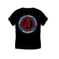 Pánské triko s kr. rukávem Avengers - černé