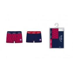 Chlapecké boxerky (2pack) - červené / modré