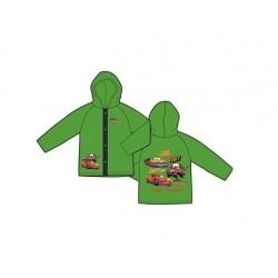 Pláštěnka Auta - zelená