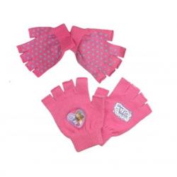 Rukavice Violetta - růžové
