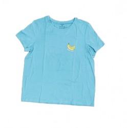 Dámské triko s kr. rukávem - modré
