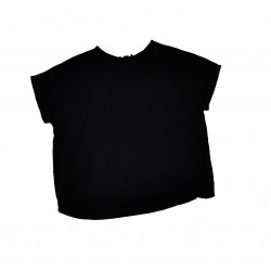 Dámský volný top - černý