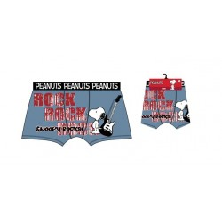Pánské boxerky Snoopy - modro-šedé