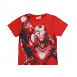 Triko s kr. rukávem Avengers - Iron-man (červené)