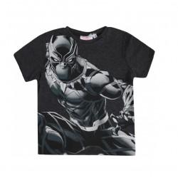 Triko s kr. rukávem Avengers - Černý Panter (tmavě šedé)