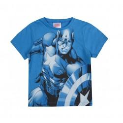 Triko s kr. rukávem Avengers - Kapitán Amerika (modré)