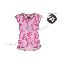 Triko s kr. rukávem Fortnite - růžové