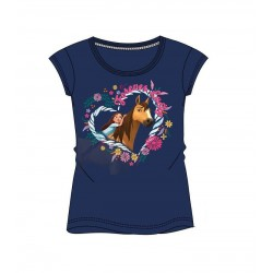 Triko s krátkým rukávem Spirit - modré