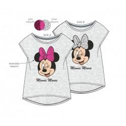 Triko s měnícími flitry s kr. rukávem Minnie Mouse