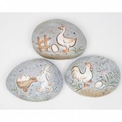 Ručně malovaný kámen - (ruko-dělné dílničky)