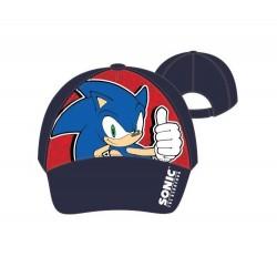 Kšiltovka Sonic - tmavě modrá s červeným