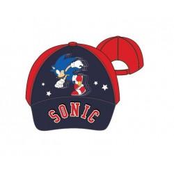 Kšiltovka Sonic - červená s tmavě modrým