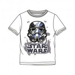 Triko s kr. rukávem Star wars - bílé