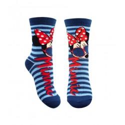 Ponožky Minnie Mouse - modré