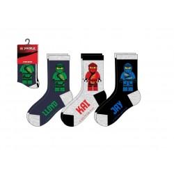 Ponožky Lego Ninjago (3pack, šedá)