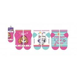 Kotníkové ponožky Tlapková patrola (3pack, mint)