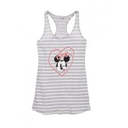 Dámská noční košile Mickey Mouse - šedá