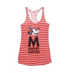 Dámská noční košile Mickey Mouse - červená