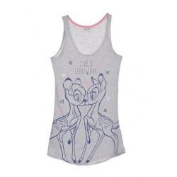 Dámská noční košile Bambi - šedá
