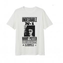 Triko s kr. rukávem Harry Potter - bílá