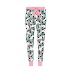 Dámské lehké kalhoty / tepláky Minnie Mouse - růžové