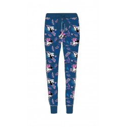 Dámské lehké kalhoty / tepláky Minnie Mouse - modré