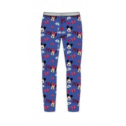 Legíny Minnie Mouse - modré