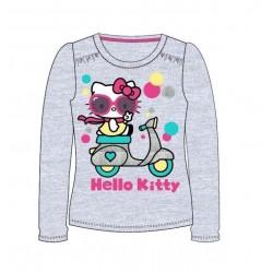 Triko s dl. rukávem Hello Kitty - šedá
