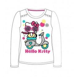 Triko s dl. rukávem Hello Kitty - bílá