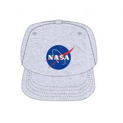 Kšiltovka s rovným kšiltem NASA - šedá