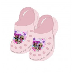 Crocsy L.O.L. - světle růžové