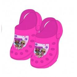 Crocsy L.O.L. - tmavě růžové