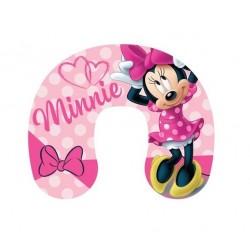 Cestovní polštářek Minnie Mouse - růžová