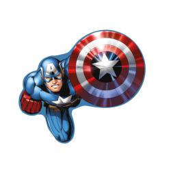Tvarovaný polštářek Avengers (Kapitán Amerika)