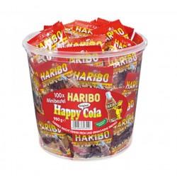 Haribo Happy cola 100x 9,8g (dóza 980g)