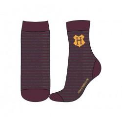 Ponožky Harry Potter - šedo-vínové