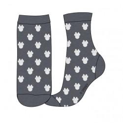 Ponožky Minnie Mouse - šedé
