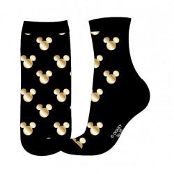 Ponožky Mickey Mouse - černo-zlaté