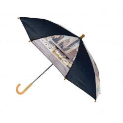 Deštník mimoni - černo-žlutý