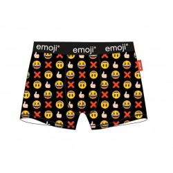 Pánské boxerky Emoji - černé
