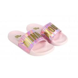 Dámské nazouváky Minnie Mouse - růžové
